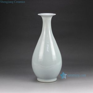 RZGS01 High temperature fired jade like ceramic flower vase