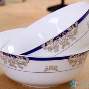 RZHY01-H Victoria era style top grade bone china ceramic dinner sets