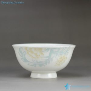 RZHY02-D Simple and elegant white small household porcelain bowl