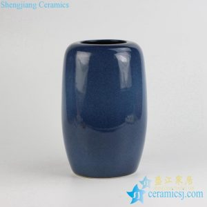 036-RYNQ /-B Customized Starry sky style elegant blue ceramic jar flower vase