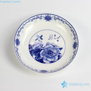 RZHY03-C High quality fine bone china round ceramic cookware