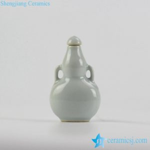 2L05-B Customized Solid color snuffle bottle with lid
