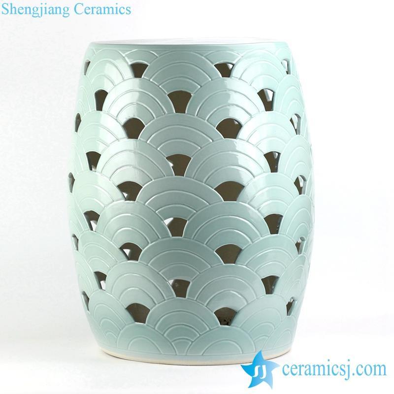lime green ceramic seat