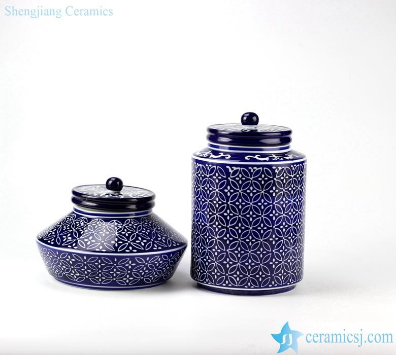 wedding table top ceramic couple jar