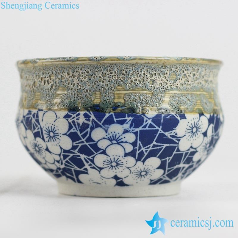mixed style small ceramic pot
