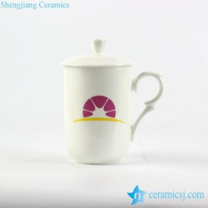 040-RYDI-CBDI48 Mass customization logo print service bone china high quality bureaux office coffee mug