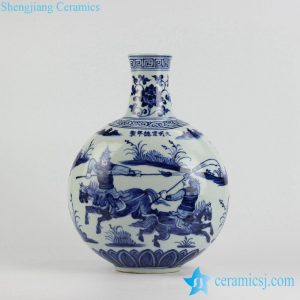 RZHL09-A Warring States Period pattern hand paint modelled after antique ceramic globular vase