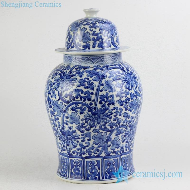 NEW ARRIVAL BLUE JAR CERAMIC