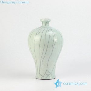 RYXC13-B Meiping ceramic crackle vase for online sale
