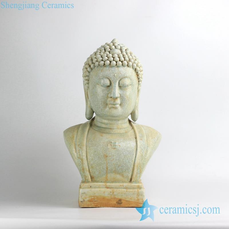 BUDDHA STATUE CERAMIC MATERIAL