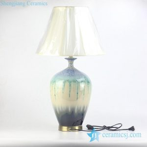 RZJY01 Transmutation glaze bedroom ceramic lamp