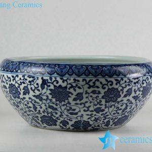 RZFU12-D-C73-13 Factory outlet cheap price ceramic floral water pot