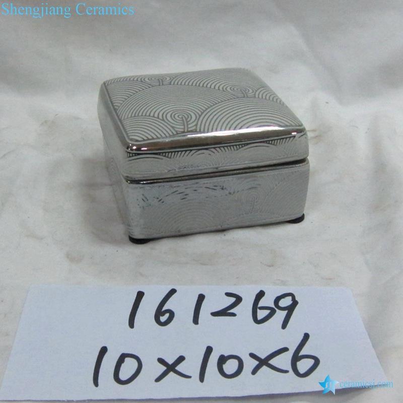 ceramic square box