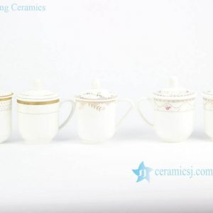 RYDY33 Personal logo customized porcelain cup