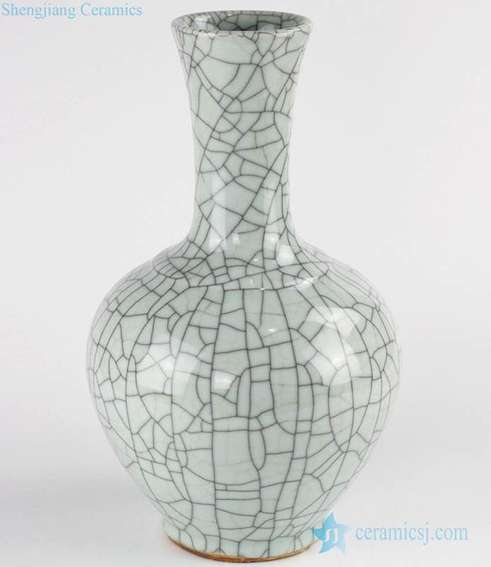crackle glaze ceramic Chinese vase