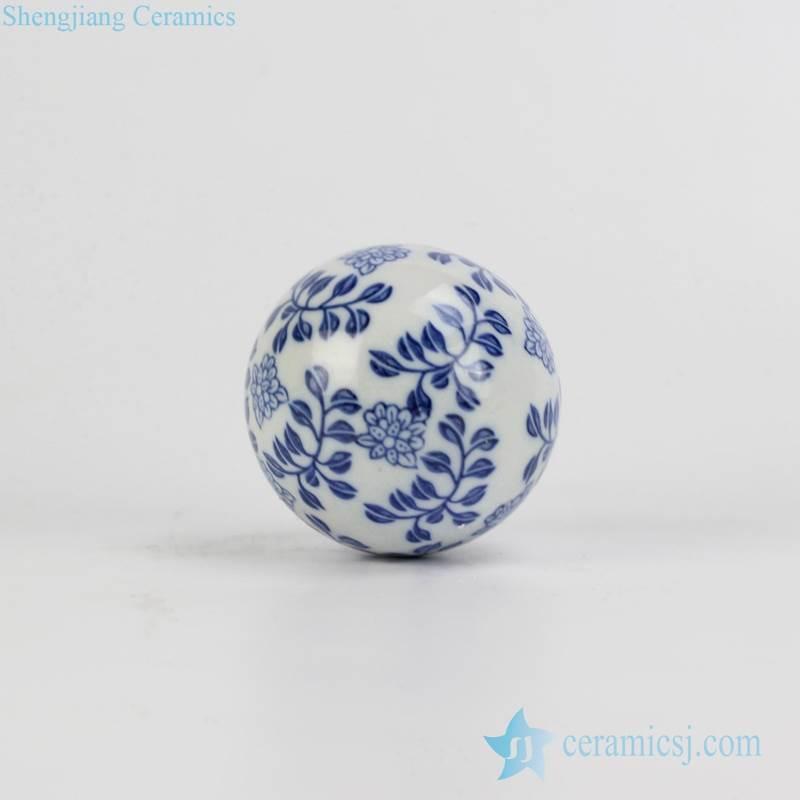 Christmas ceramic ball