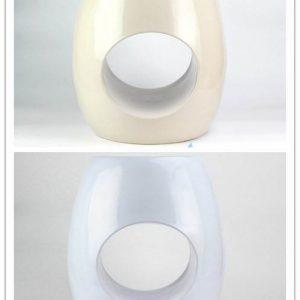 RYIR119-B/C Ring hole design plain color ceramic stools