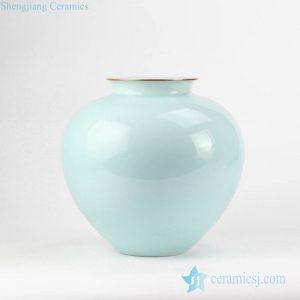 RZJR12 Pomegranate shape celadon glaze ceramic vase