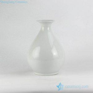 RYNQ219 pure white glaze okho crockery vase