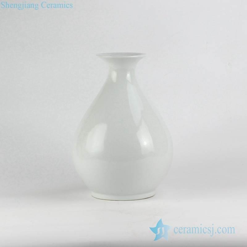pure white glaze okho crockery vase