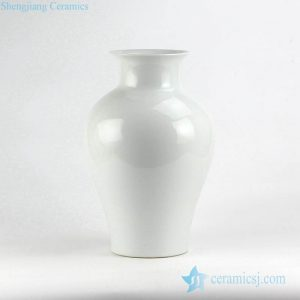RYNQ222 white glaze hotel decor simple style ceramic vase