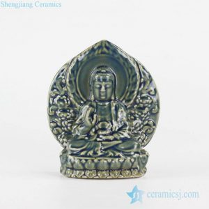 RYXP36 Thousand-Hand pottery sculpture Kwan-yin