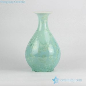 RZCU13 New arrival snow flake design China online sale porcelain spring bottle