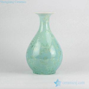 RZCU13 New arrival snow flake design China online sale porcelain spring bottle