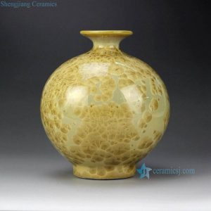 RYYH02-b Jellyfish feel design pomegranate shape ceramic vase