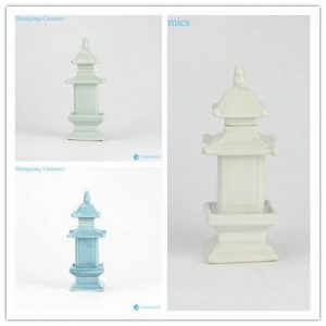 RZGE01-C/D/E plain color made in China ceramic pagoda