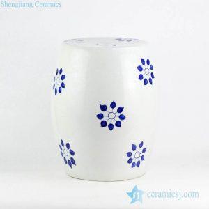 RYNQ237 Corn flower pattern wholesale price hand drawing ceramic leisure stool