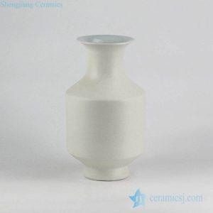 RYUJ19-k Factory cheap price white ceramic vase