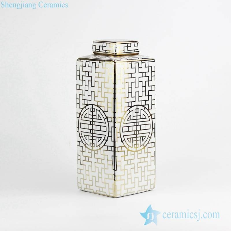 Multi Colored Jar Jingdezhen Shengjiang Ceramic Co Ltd
