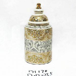 RZKA171170 Small size hotel decor luxury India style porcelain jar