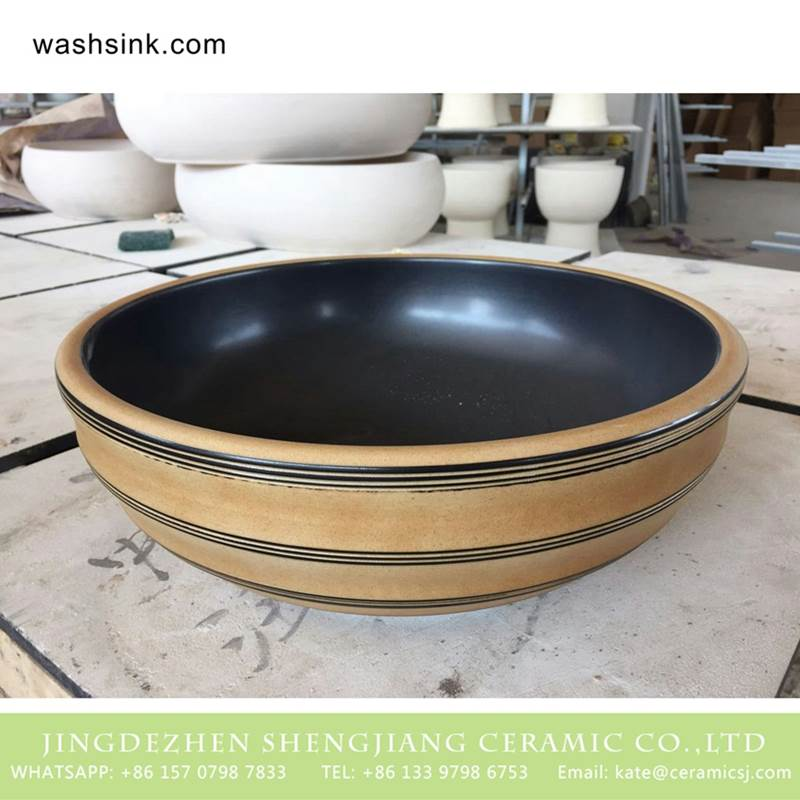 Chinese supplier lowest price natural ceramic wash face basin