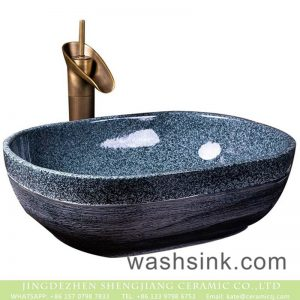 XXDD-08-3 Jingdezhen Shengjiang factory direct high gloss art famille rose washing basin