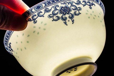 RZKX16-4.5cun-E Flower pattern blue and white ceramic bowls wholesale set of 10