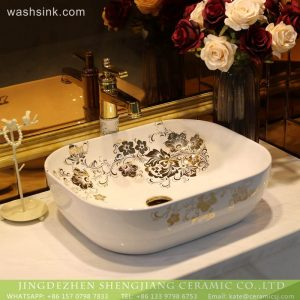 LT-2018-BL3I2091 Chinese factory direct supply wholesale ceramic basin wash sink home decor European bathroom