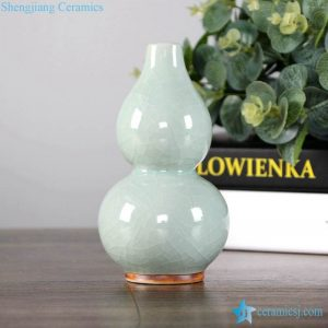 RZFW17-20 Plain color crackle glaze antique style China ceramic vases