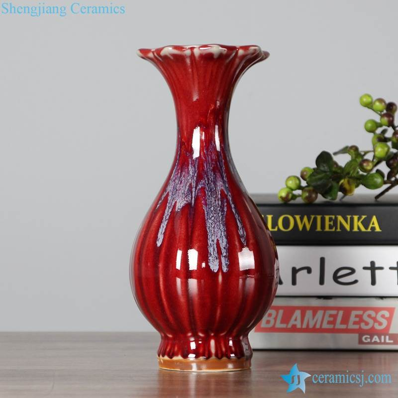 THE VASE WITH BIG OPEN TOP