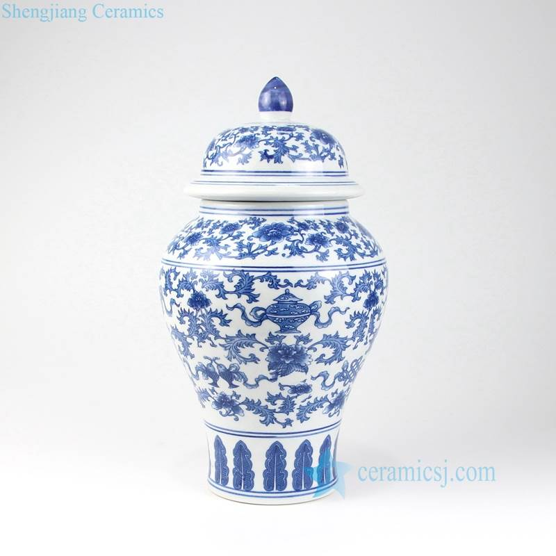 Cookie Jars For Sale Online Awesome RYUJ60 Blue And White Low Price Online Sale Porcelain Jar