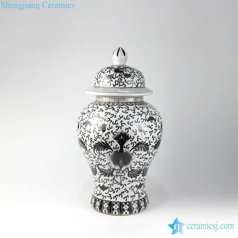 black paint jar