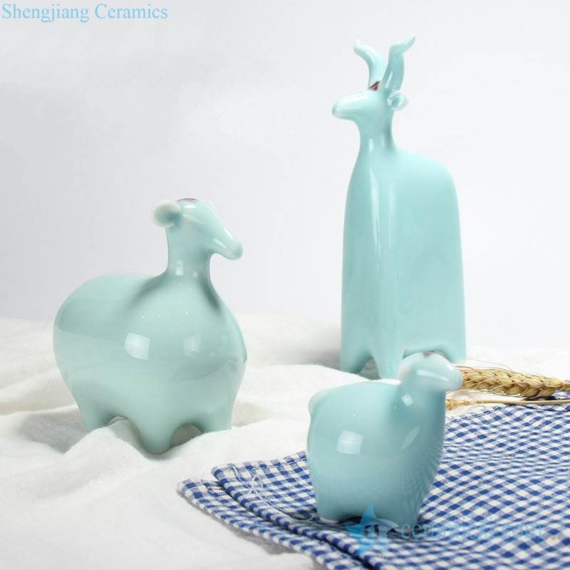China zodiac sheep figurine