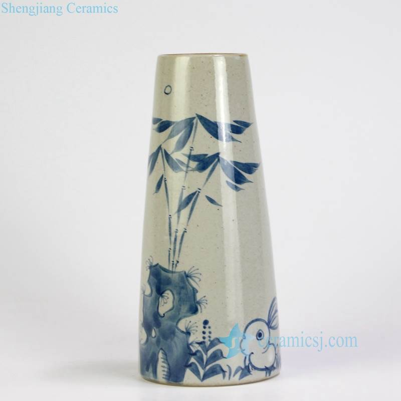 Rabbit ceramic vase