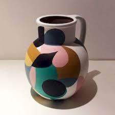pottery bottle