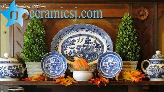 home decor ceramic plate