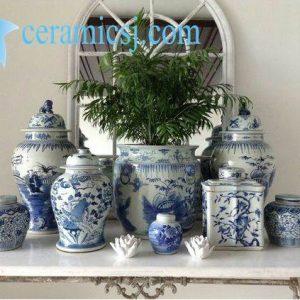 Versatile Blue and White Ceramics