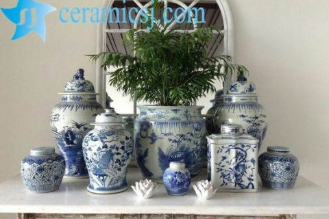 Versatile Blue and White Ceramics