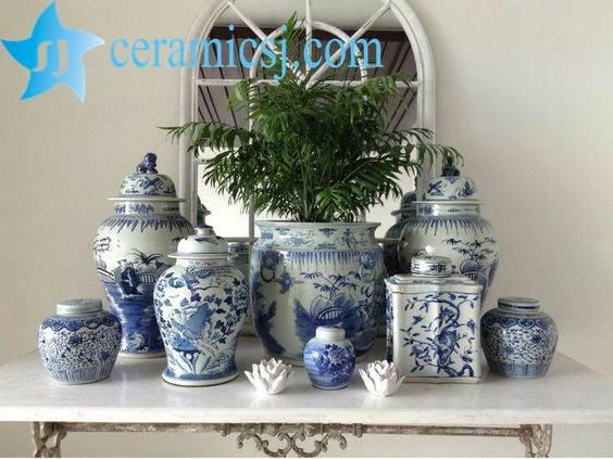 warm welcome ceramic jar