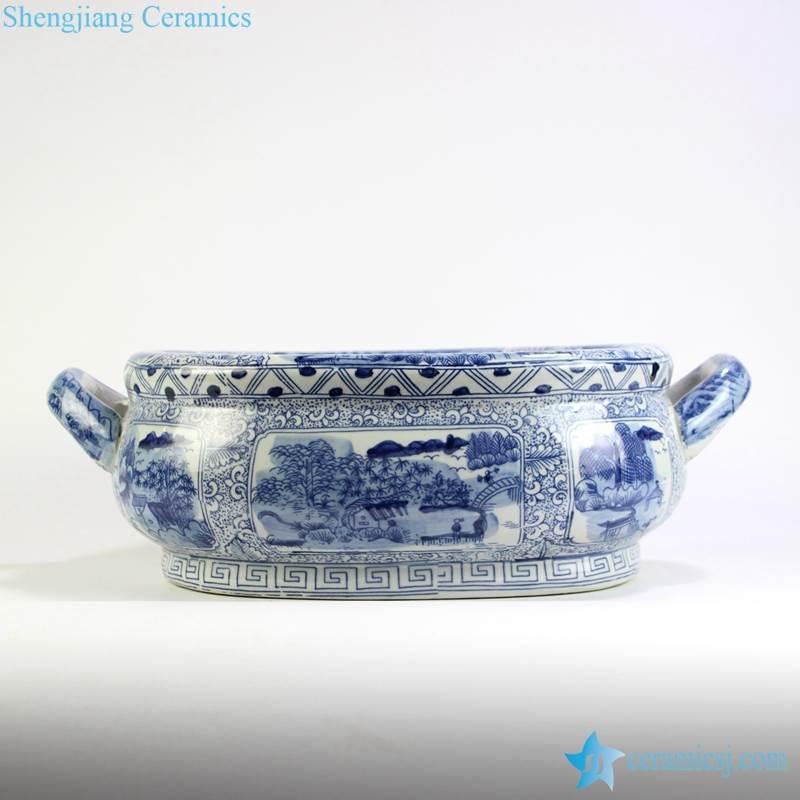 Planter And Fish Bowl Jingdezhen Shengjiang Ceramic Co